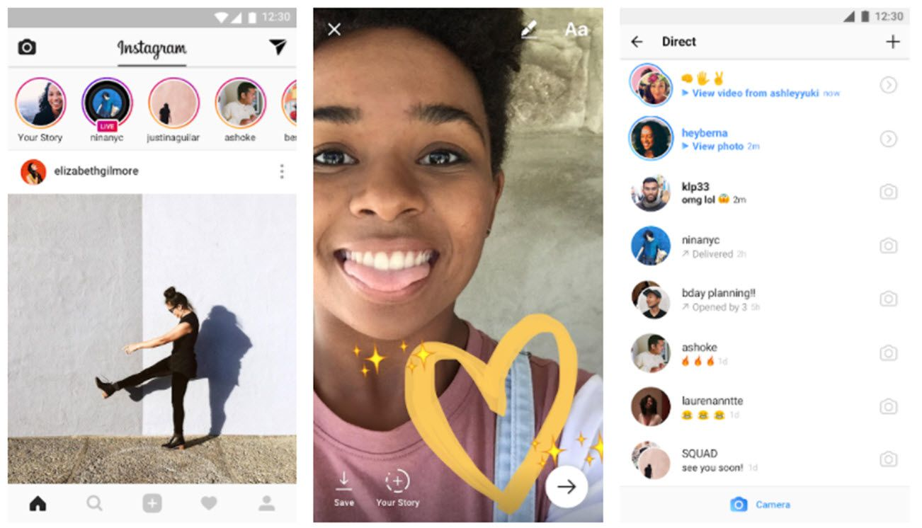 What is Discovered Through Instagram