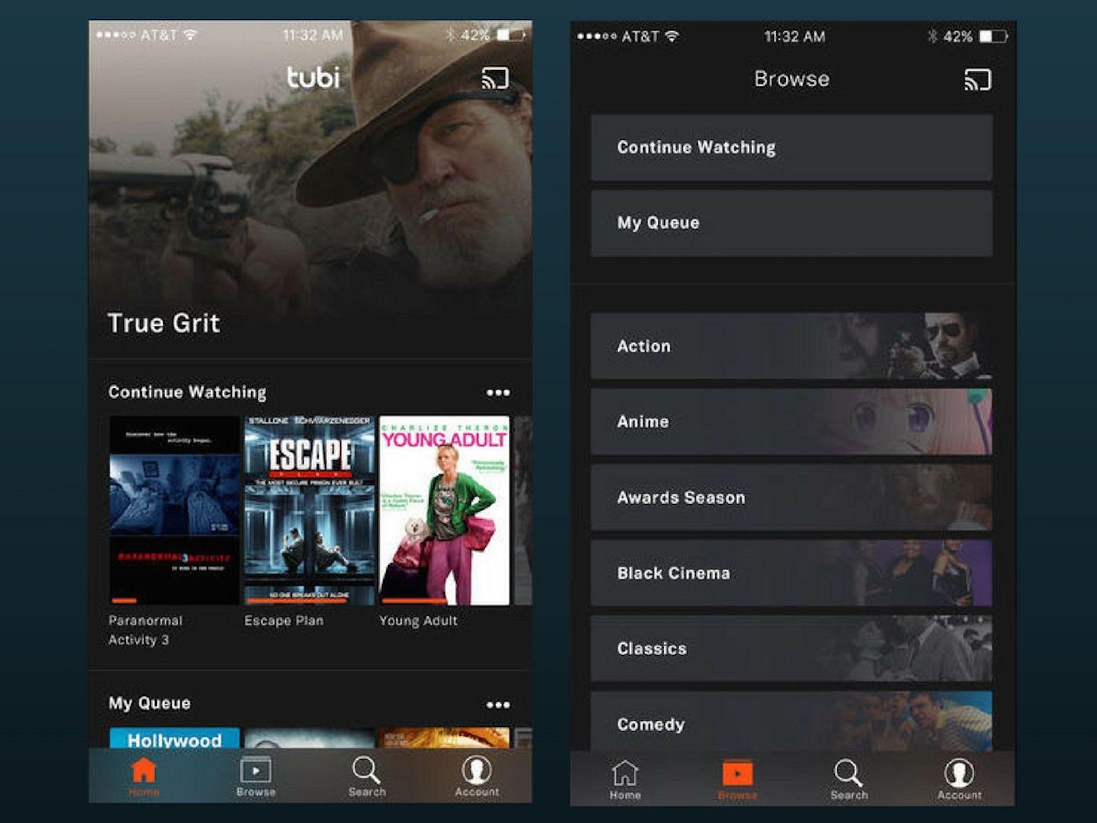 Tubi TV for iOS