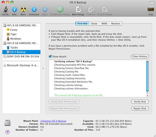 creating a startup disk for mac