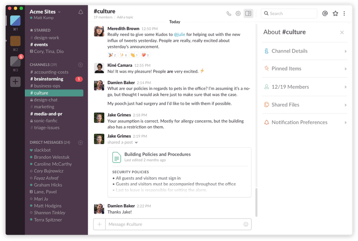 Tips for Getting the Most out of Slack's Team Messaging Service