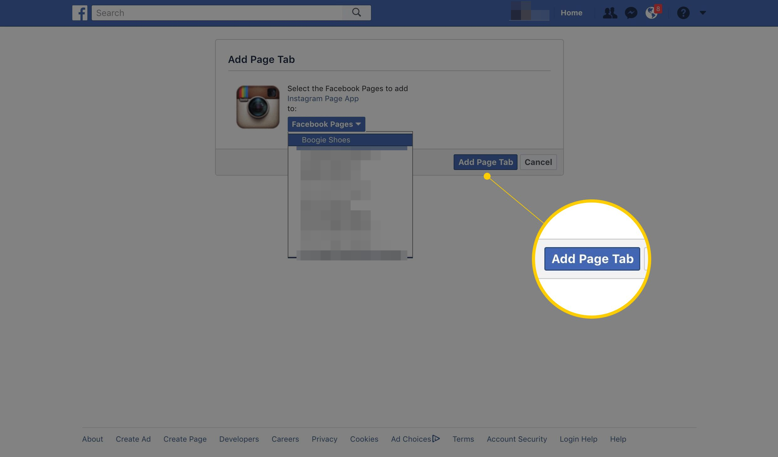 How to Add an Instagram Tab to Your Facebook Page