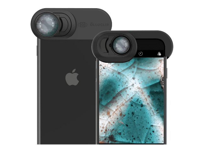 Olloclip attaching lenses for the iPhone SE 2020