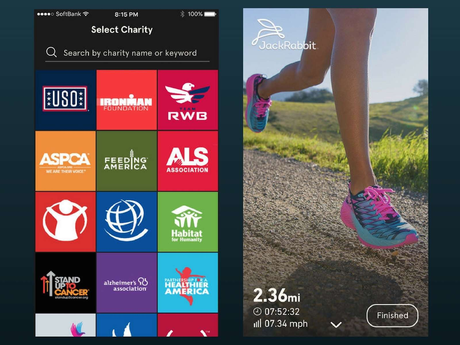 Charity Miles for iOS
