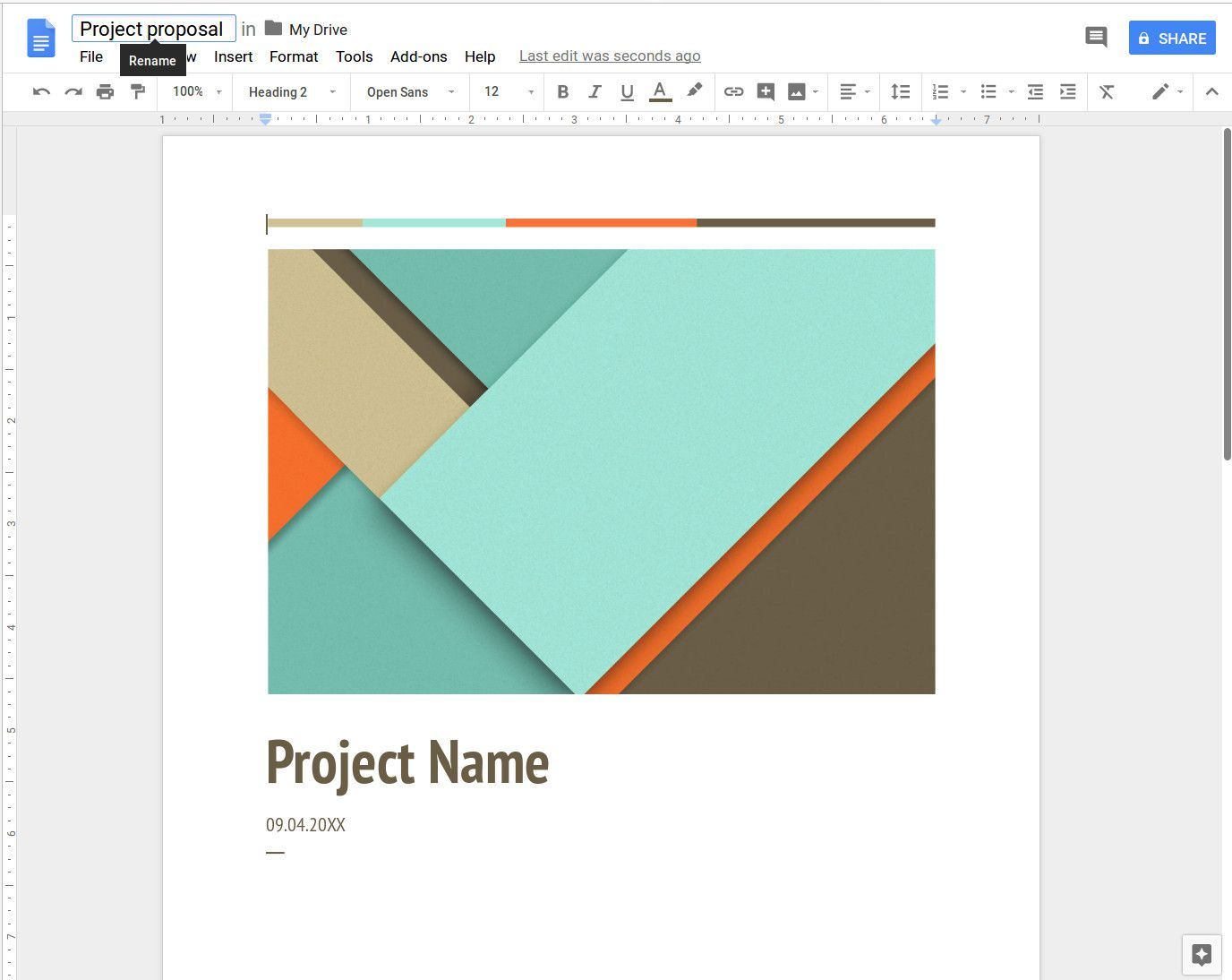 How To Create A Template In Google Docs | How To Create A Free Google Docs Template