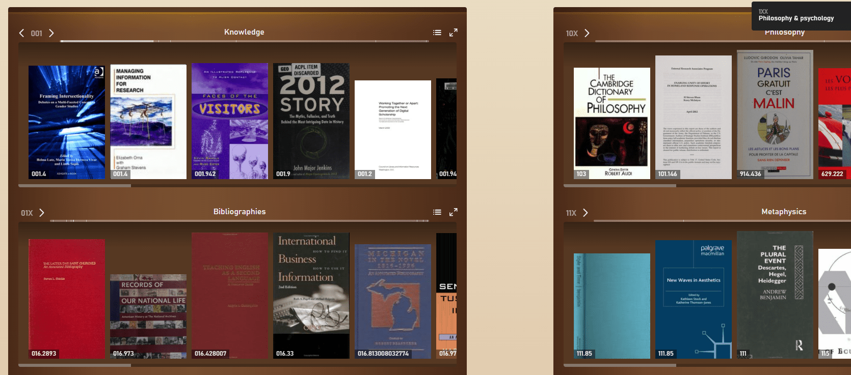 Open Library's free book explorer