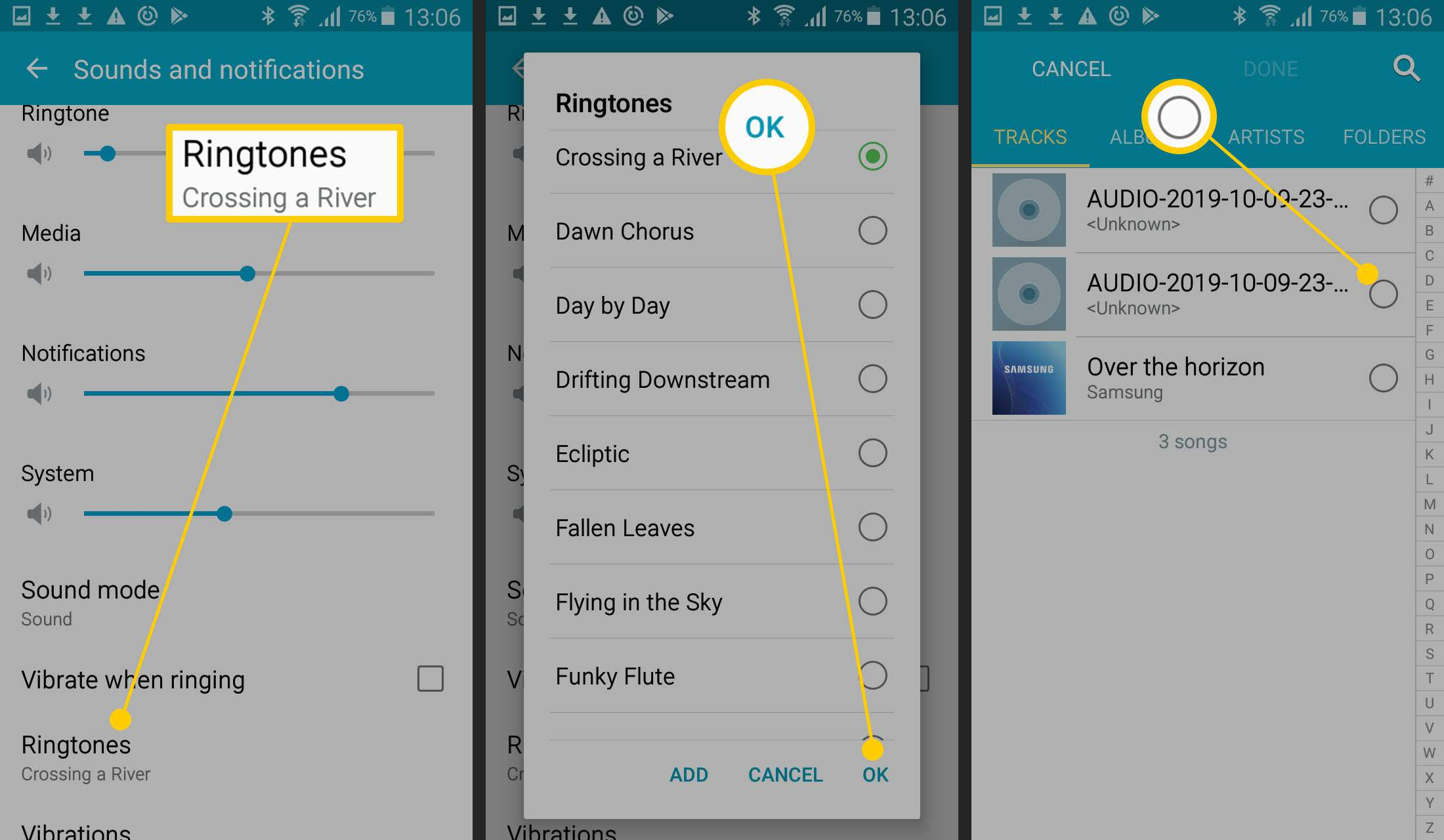 How to Make a Song Your Ringtone on Android