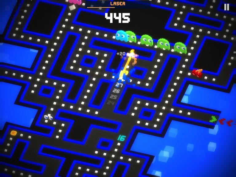 Pac-Man 256 Gameplay