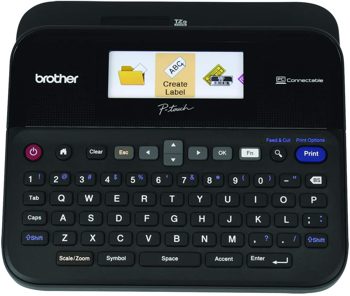 Brother P-touch Label Maker, PC-Connectable Labeler, PTD600