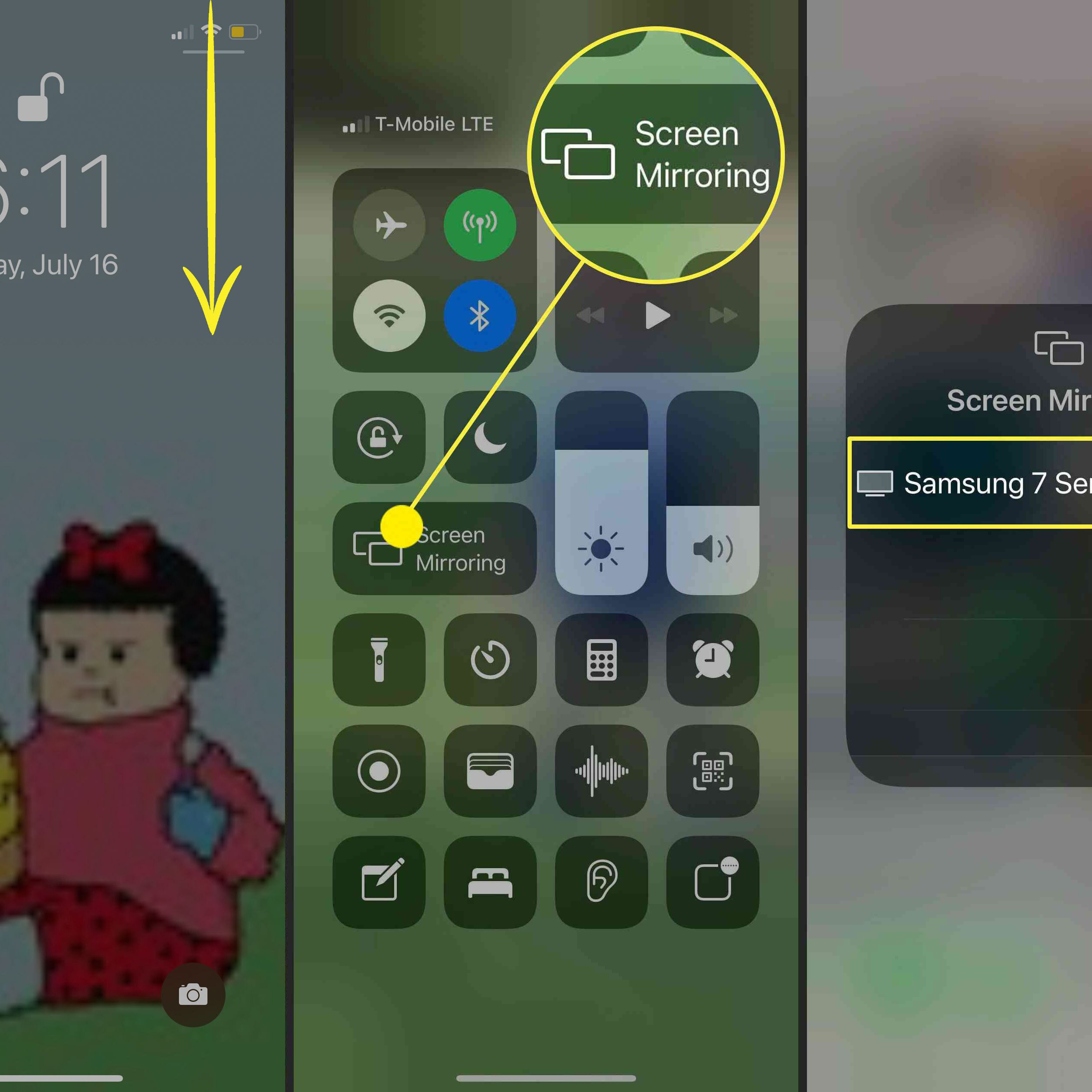 An Iphone To A Tv Without Apple, How To Mirror Iphone Samsung Tv Free Without Apple Id