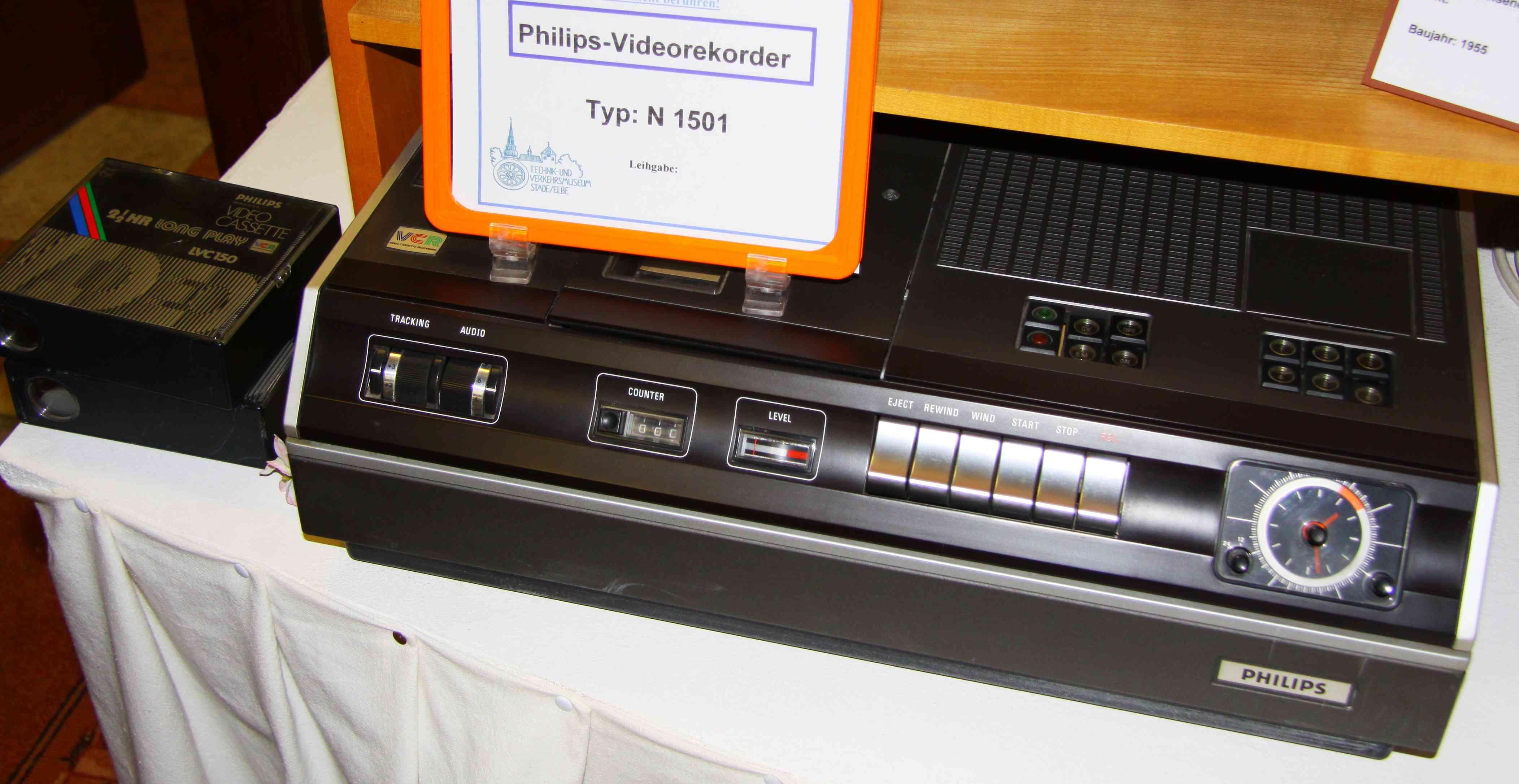 Philips N1501 video cassette recorder