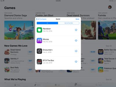 A screenshot of the App Store
