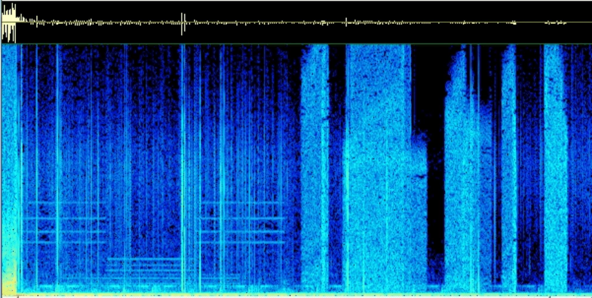 Minecraft Spectrogram