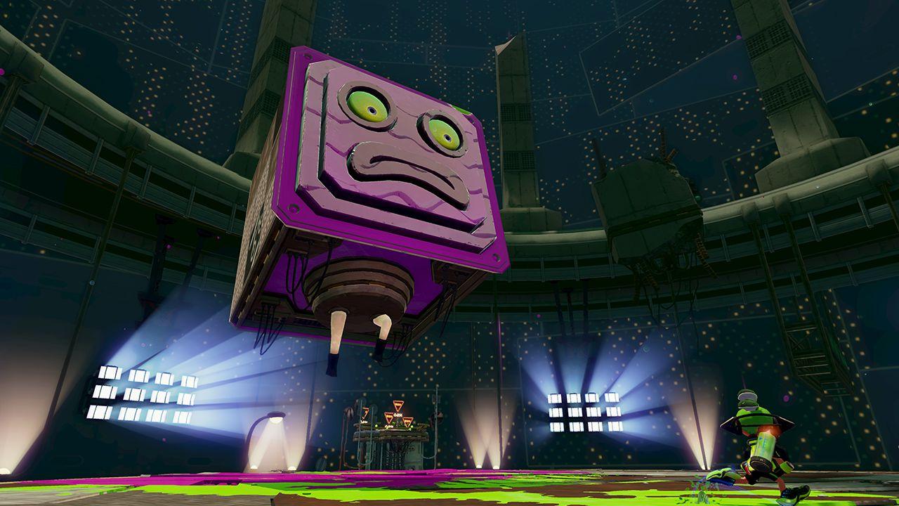 A scene from Nintendo's Wii U game Splatoon