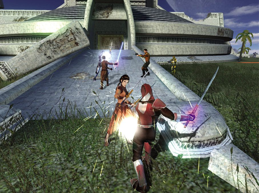 Screenshot from Star Wars: Knights of the Old Republic