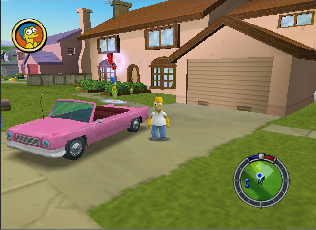 Cheats for The Simpsons: Hit and Run on GameCube