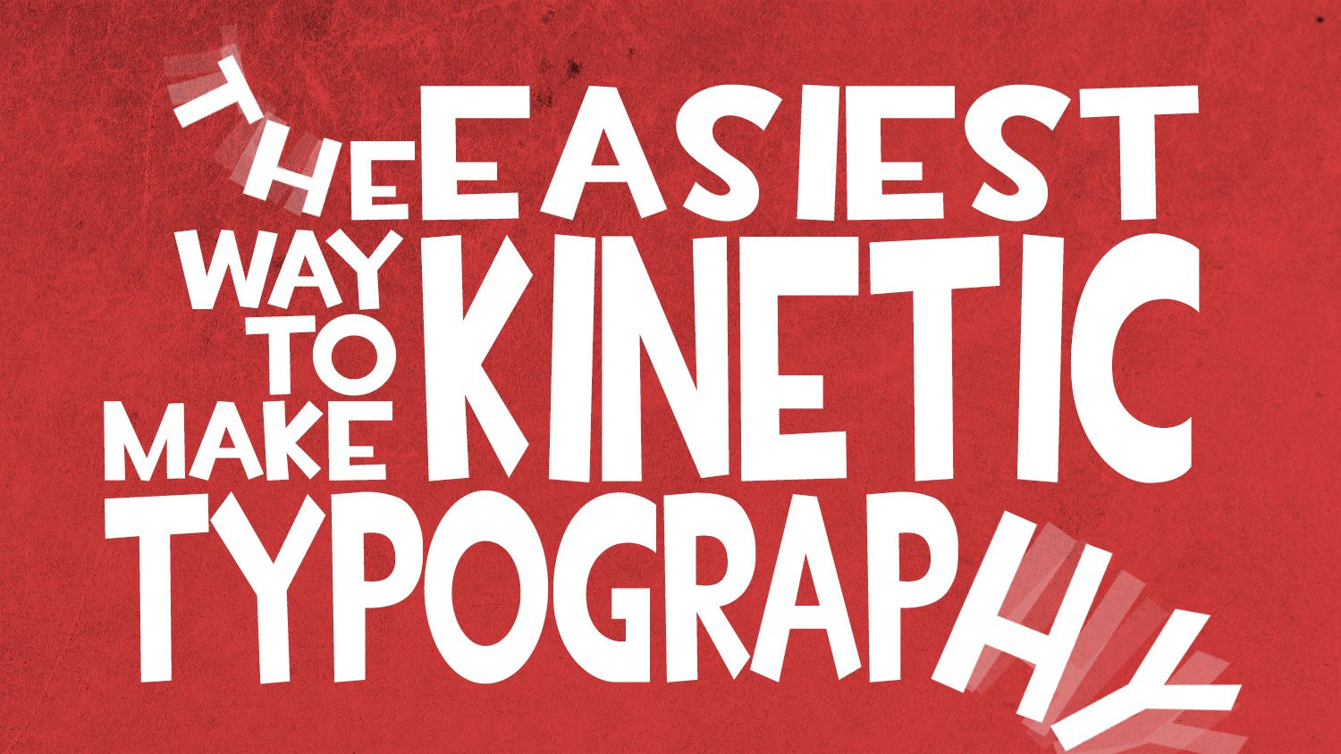 Best Ways to Make Kinetic Typography in After Effects