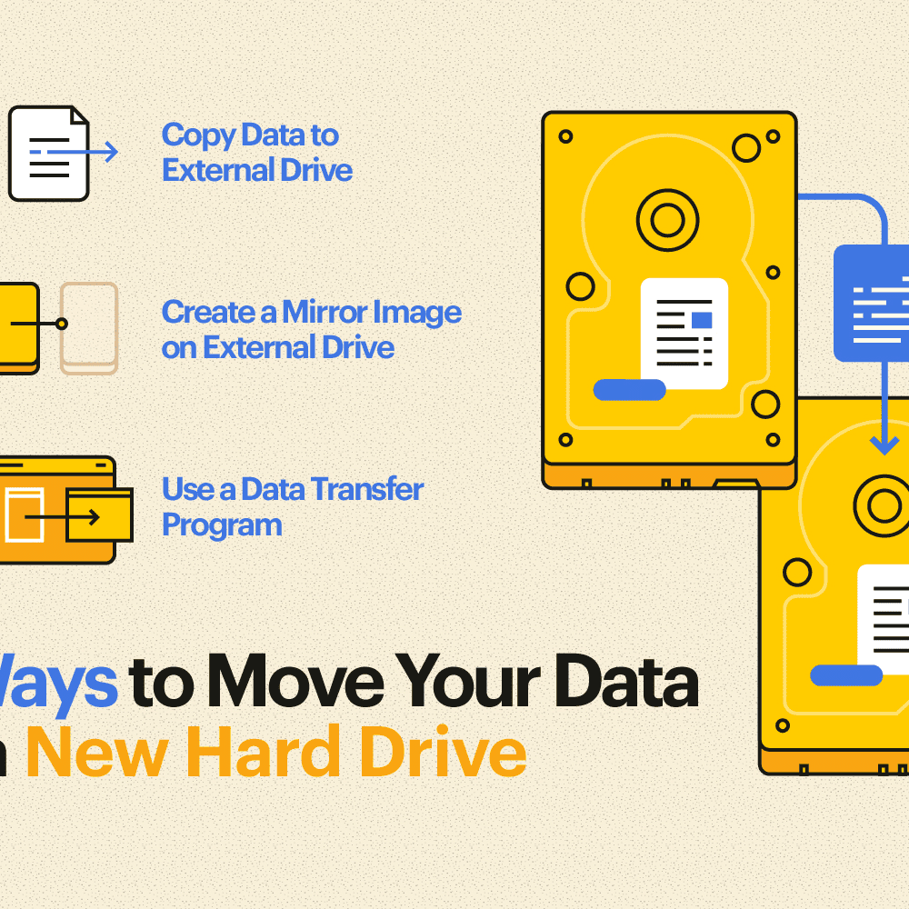 How to Transfer Data and Programs to a New Hard Drive