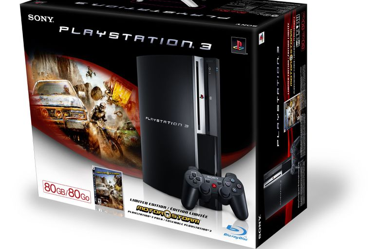80GB and 60GB PlayStation 3 (PS3) Specs and Details
