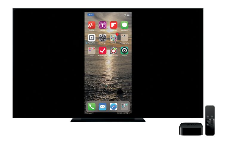 airplay mirroring on Apple TV