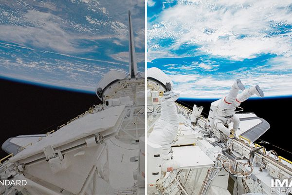 IMAX Enhanced Split Screen Example — Space