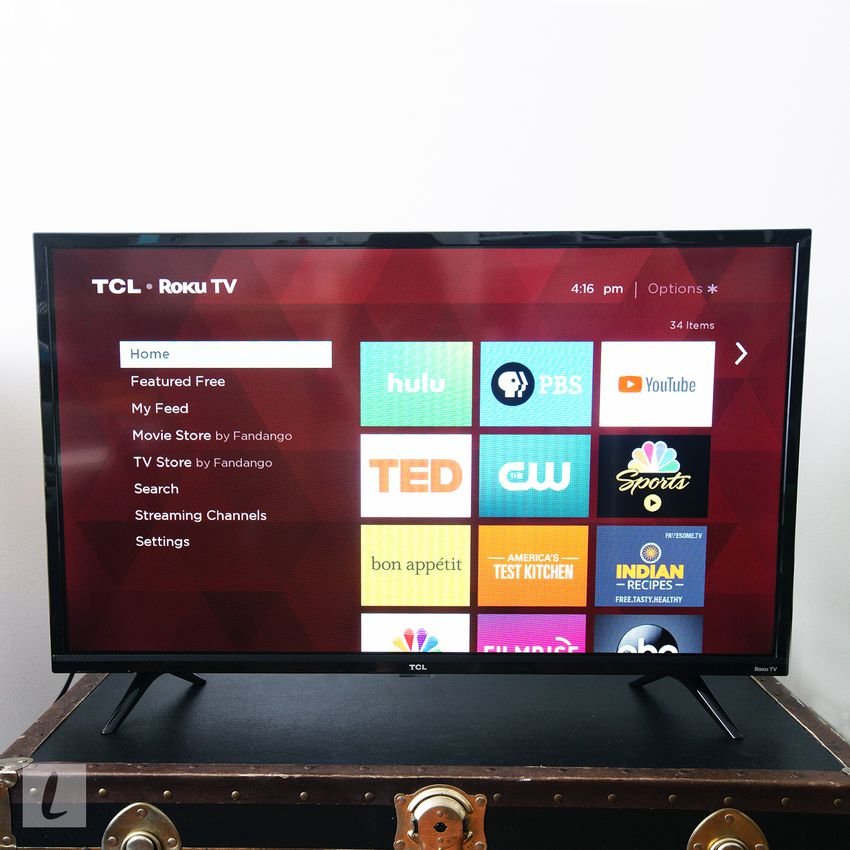 TCL 32S325 32-inch 720p Roku Smart LED TV (2019)