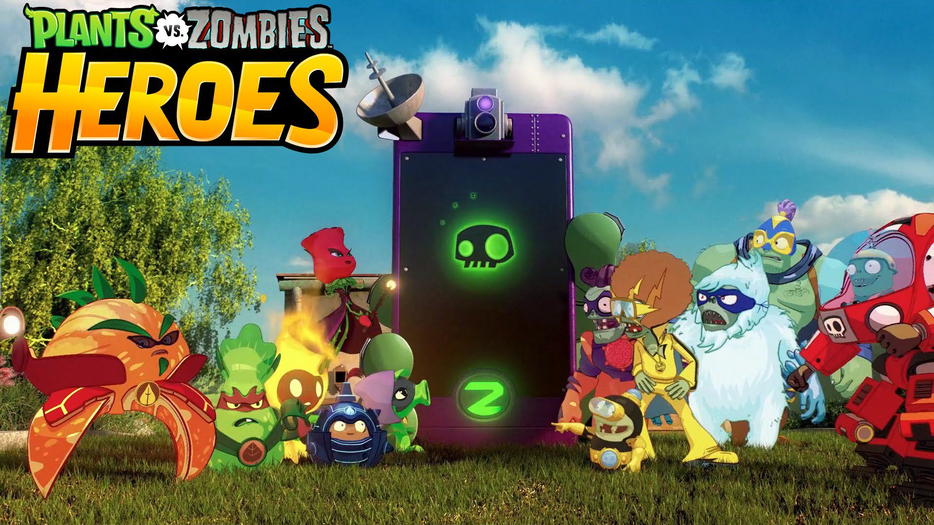 Plants Vs Zombies Heroes Too Unoriginal Too Late
