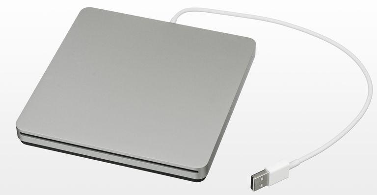 Apple superdrive external hard drive