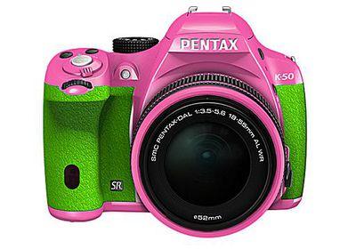 Pentax camera error messages