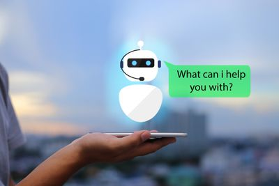 Image depicting a virtual chatbot