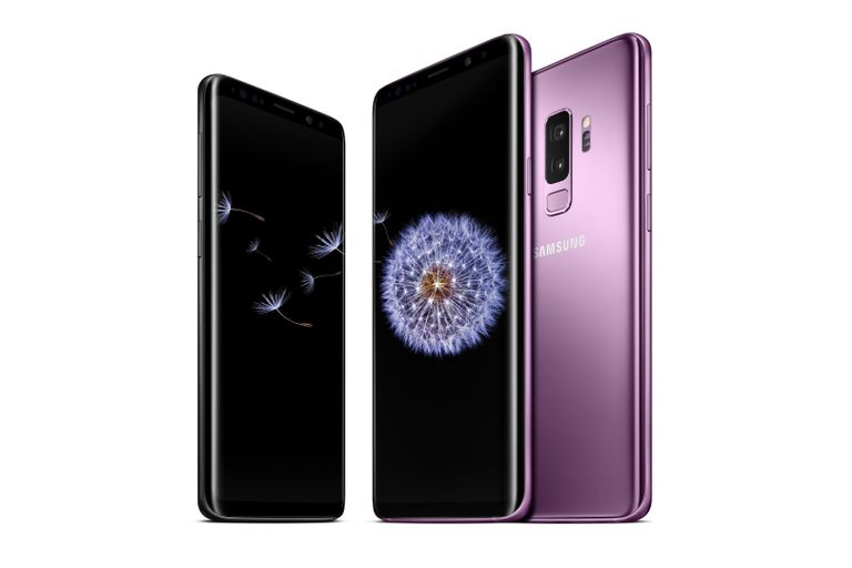 Photo of Samsung S9 and S9+ smartphones