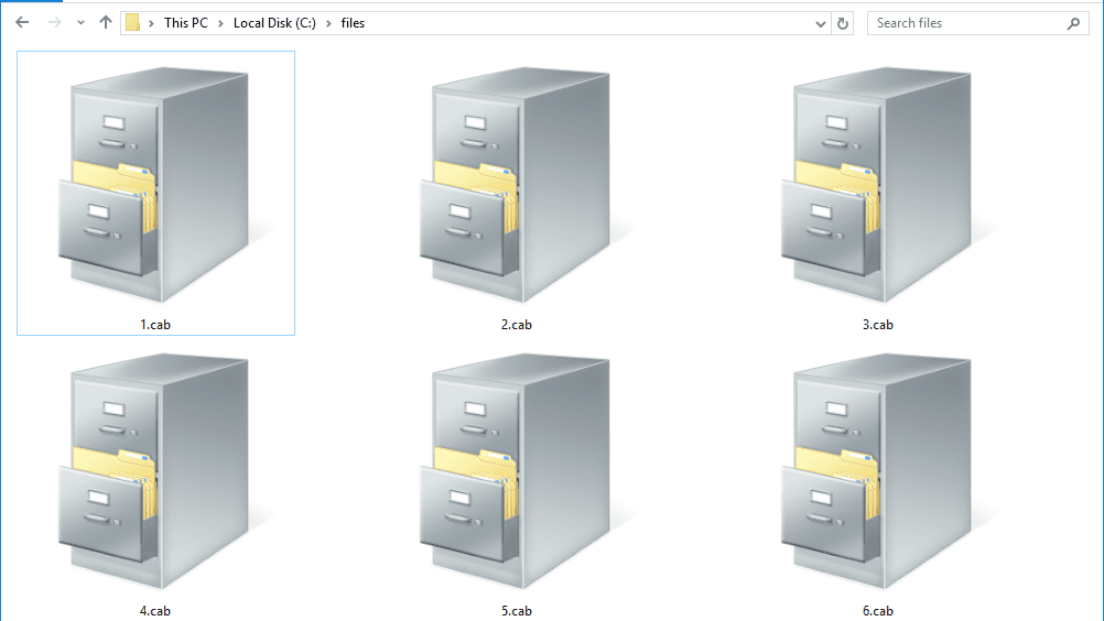 CAB File (What It Is & How to Open One)