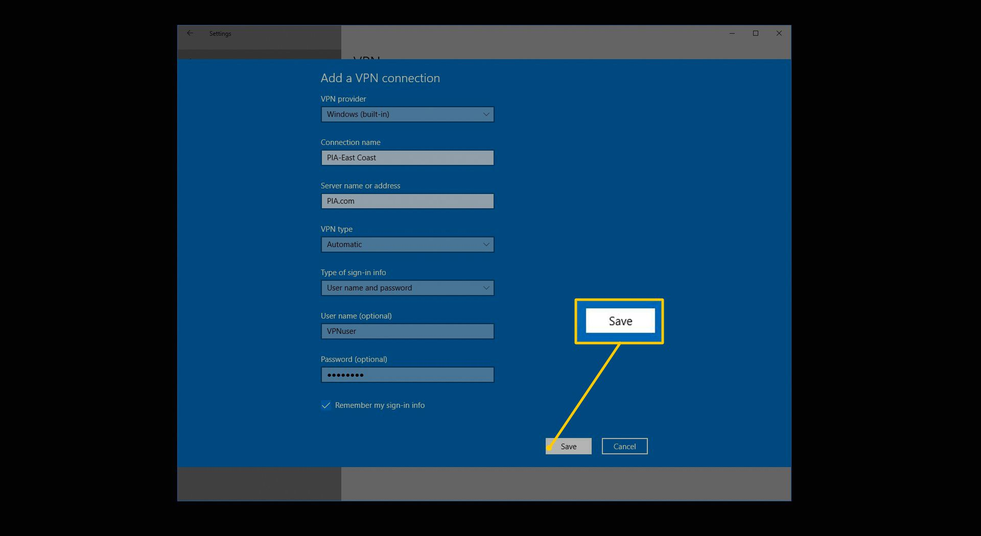 How to Set Up VPN Connections in Windows
