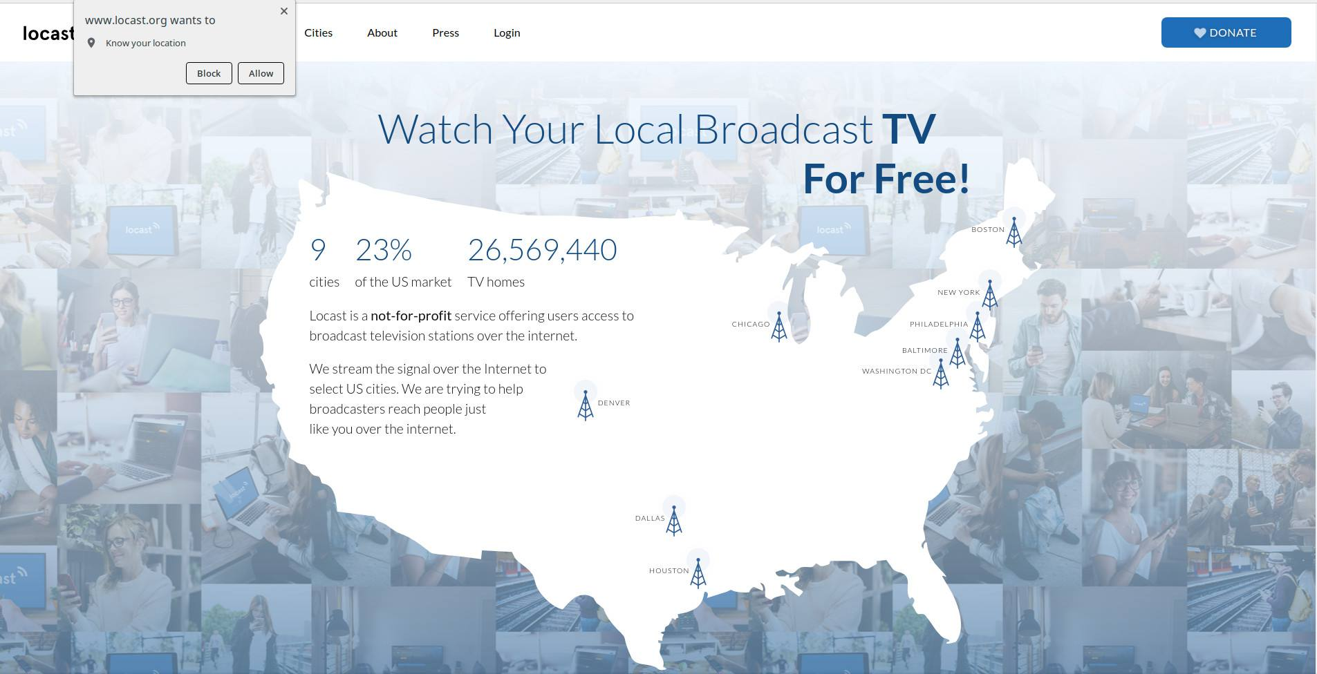 How to Get Free Local TV With Locast