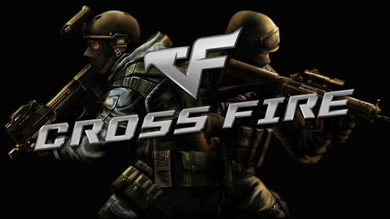 Crossfire splash screen on PS1