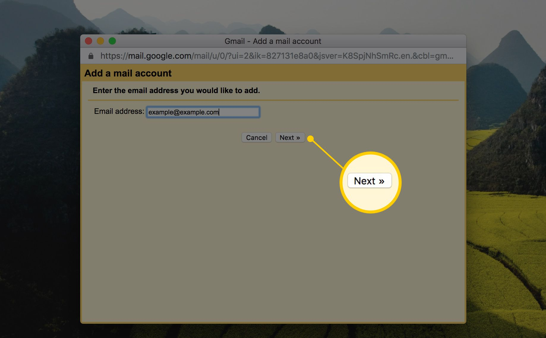 how to get mail from one gmail account to another