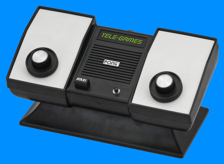 Atari Home Pong game console