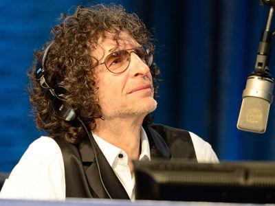 Howard Stern in a radio studio