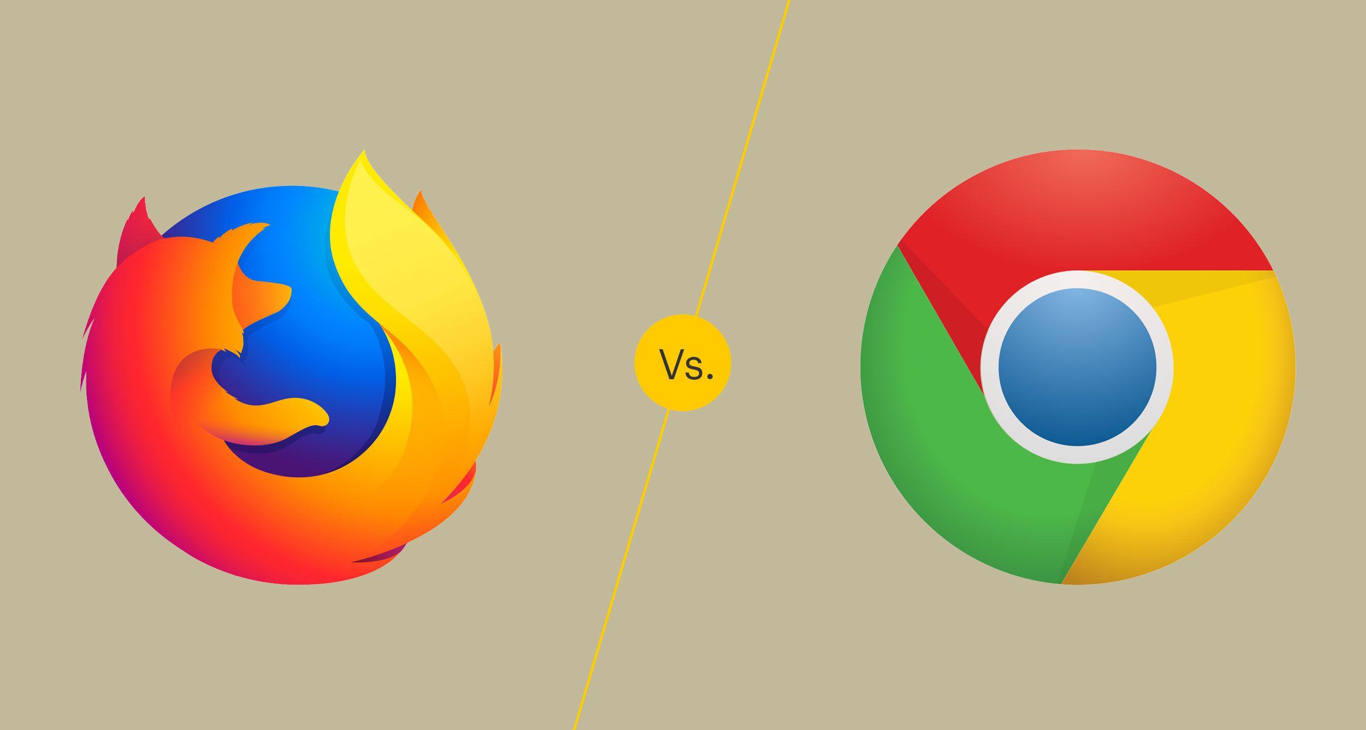 Firefox vs. Chrome