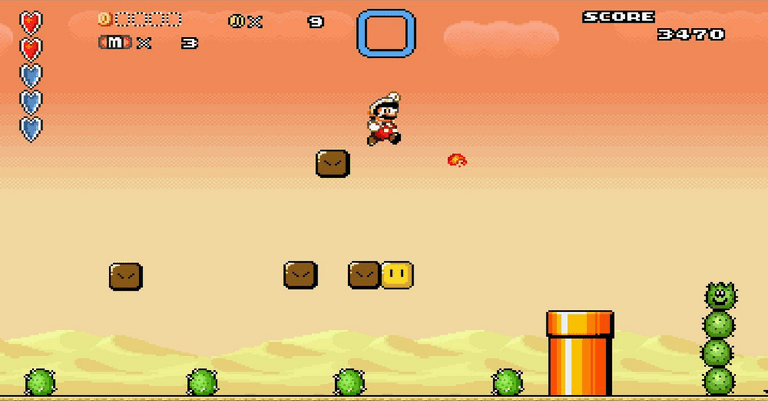 Super Mario Epic 2 Dream Machine screenshot