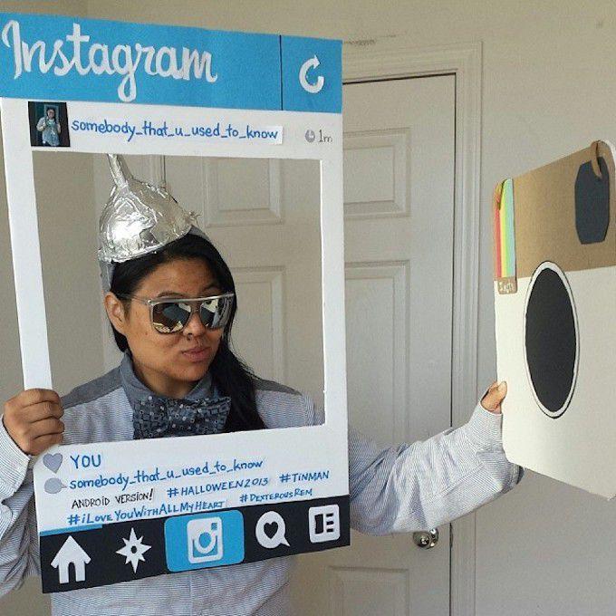 Instagram Costume