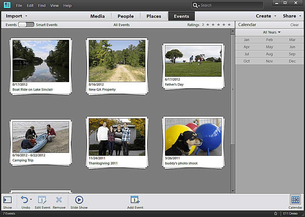 Screen shot tour of features in photoshop elements 11 ccuart Gallery