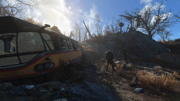 Screenshot of Fallout 4 on PS4