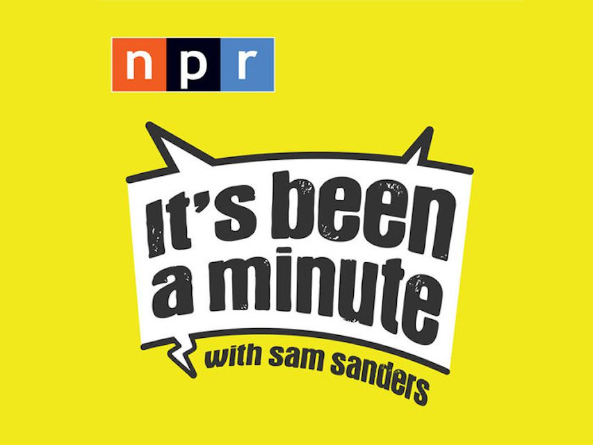 Cover art for podcast, yellow banner with NPR's logo and the show title in a stylized talk bubble