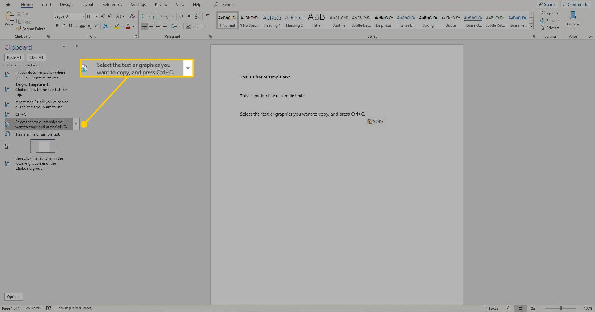 How To Cut Copy And Paste In Microsoft Word