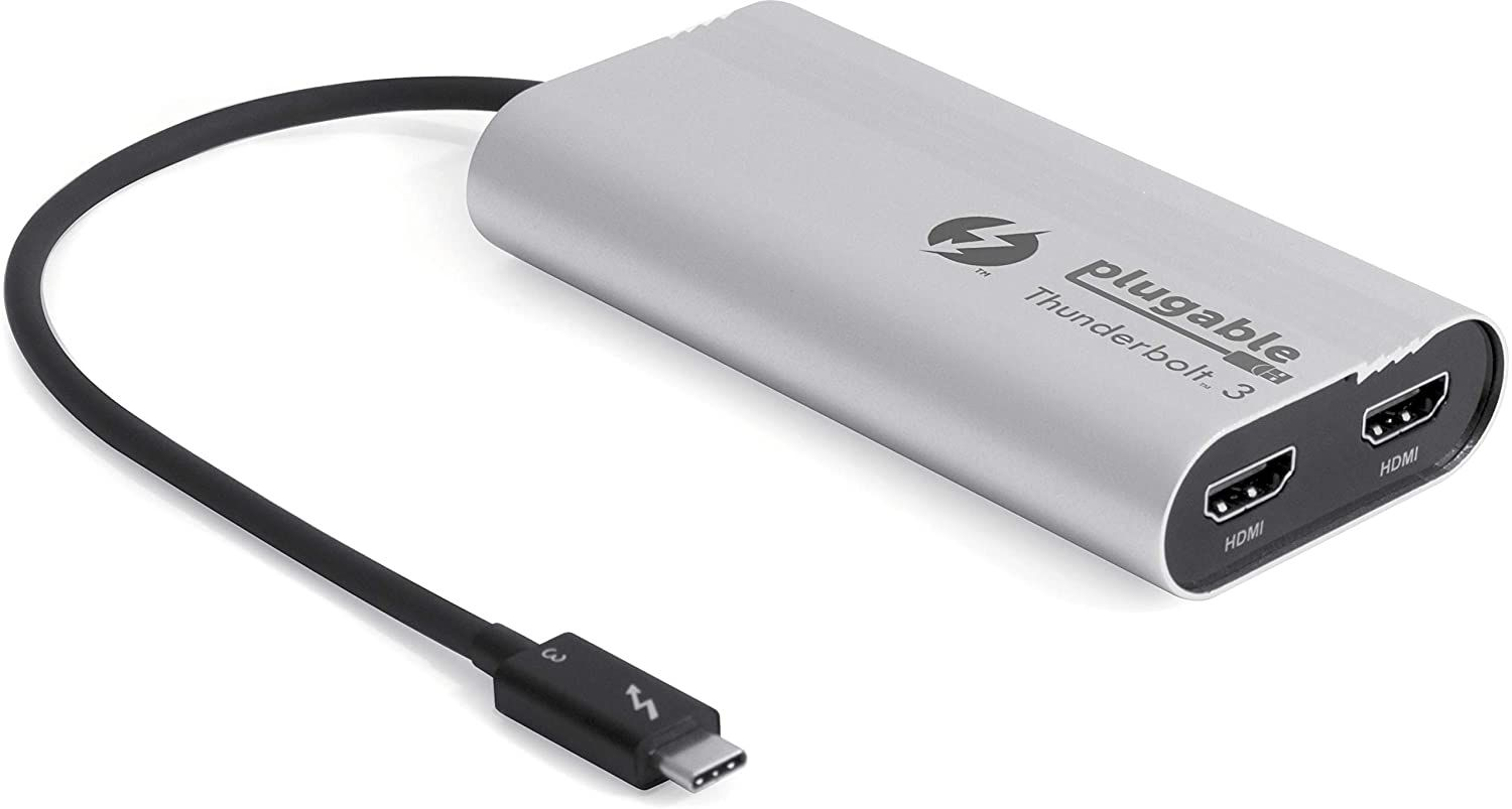 Image of a Thunderbolt display adapter