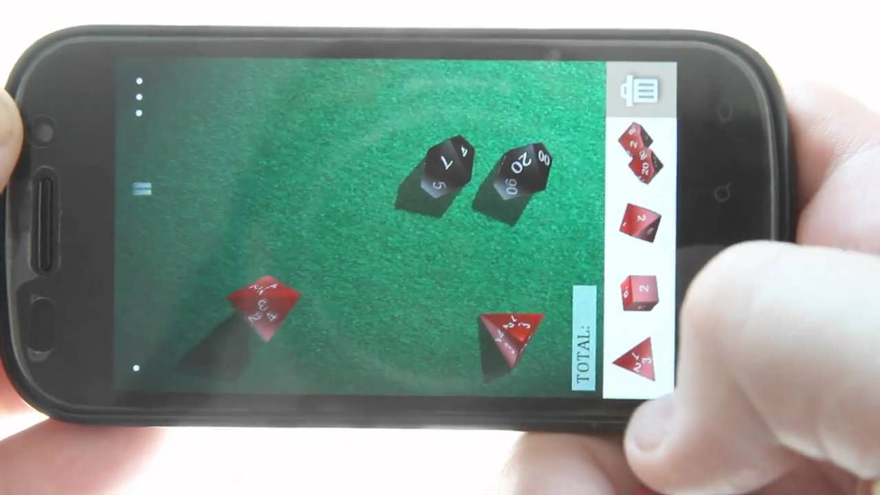 Dice Shaker makes you feel like you're really shaking dice
