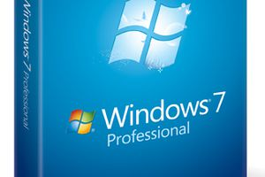 Screenshot of the Windows 7 Professional Box