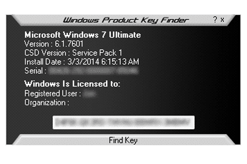 Product key win 7 ultimate 64 bit build 7601