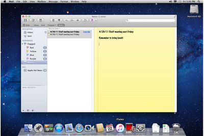 Dealing With Flagged Messages in Apple Mail