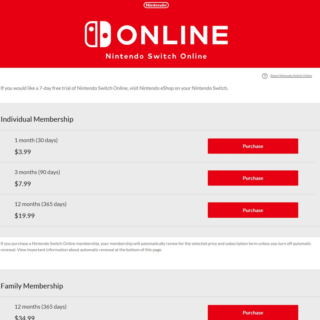 How To Set Up And Use The Nintendo Online Family Plan